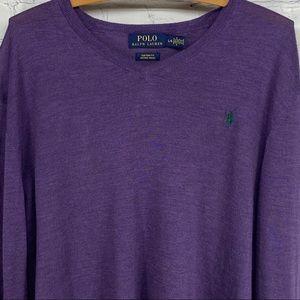 Polo Ralph Lauren merino wool sweater size large